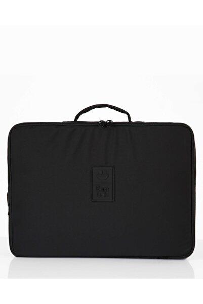 Bagslab Unisex Siyah 15.6'inç El Ve Sırt Taşınabilir Laptop Ve Evrak Çantası