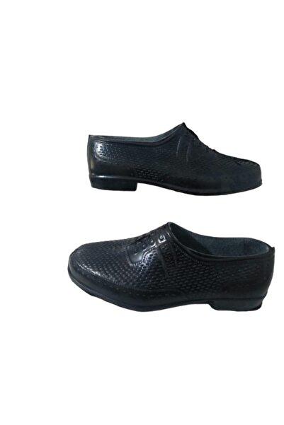 Uğur Uğr210-010 Siyah Lastik Iş Ayakkabisi