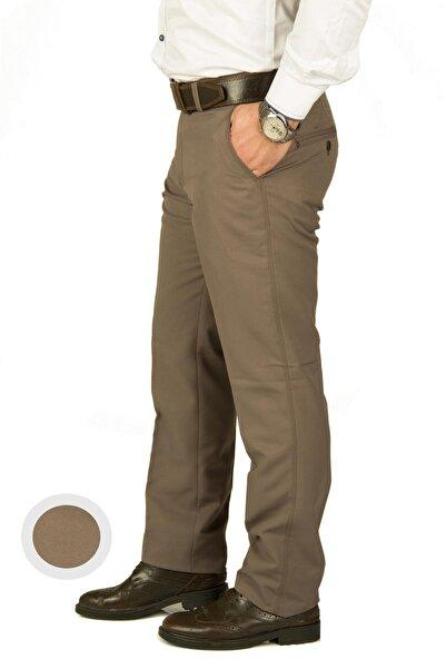 wontilotte Erkek Armüllü Kahve Yazlık Keten Pantolon(4)