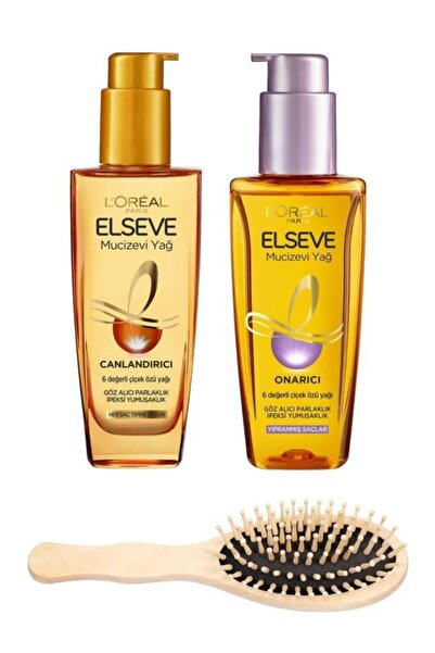 ELSEVE Mucizevi Saç Bakım Yağı Seti 3 3600522935419