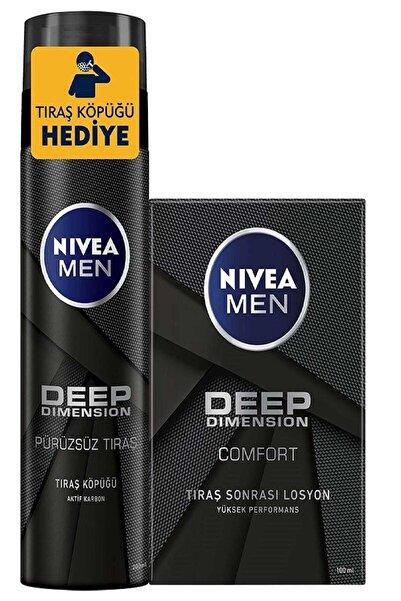 Nivea Men Deep Tıraş Köpüğü 200 ml +Tıraş Sonrası Losyon Deep 100 ml