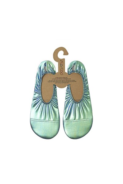 SLIPSTOP Kadın Yeşil Starry Kaydırmaz Havuz Ve Deniz Ayakkabı Ss21140155