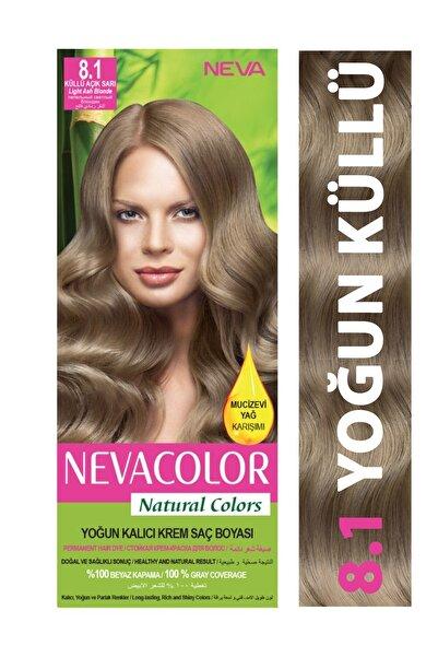 Neva Color Saç Boyası Seti 8.1 Küllü Açık Sarı 8698636612388