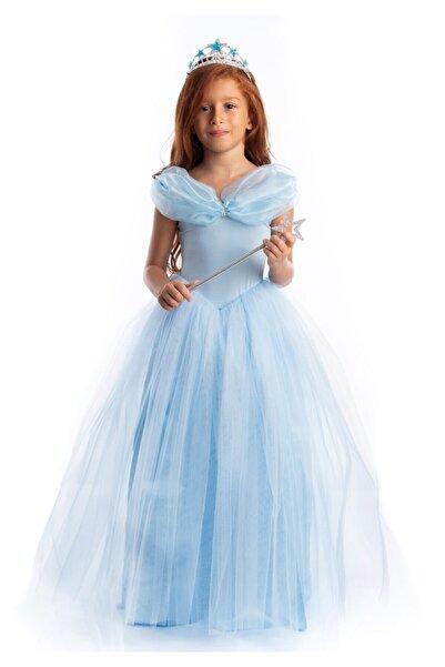 Tameris Kostüm Sindirella Kostümü Mavi