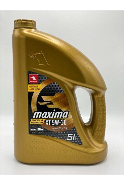 Petrol Ofisi Maxima Xt 5w30 Motor Yağı 5 Litre 2020 Üretim