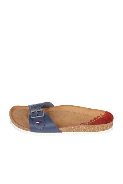 Tommy Hilfiger Kadın Lacivert Sandalet Essentıal Molded Footbed Mule EN0EN01307