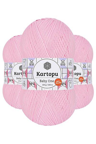 Kartopu Baby One K782 (açık Pembe) Anti-pilling El Örgü Ipi/yünü 1 Adet