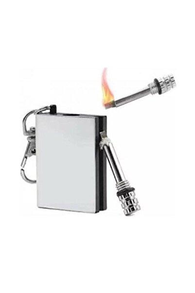 Anka Zippo Clipper Benzini Ile Çalışan Magnezyum Ateşleyici Metal Kibrit Çakmak