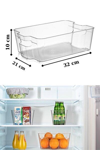Bi' Home Clear Buzdolabı & Dolap Içi Düzenleyici Organizer Büyük