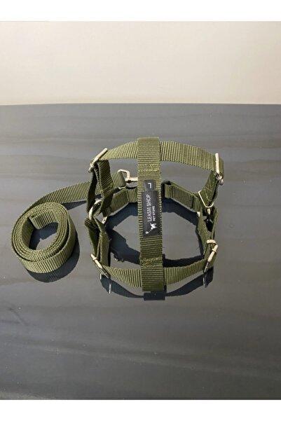 Leash Shop Köpek Göğüs Bel Tasma Takımı L Beden  55-65 cm