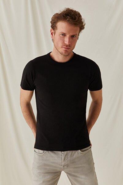 Silk and Cashmere & More Pamuk Yuvarlak Yaka T-shirt