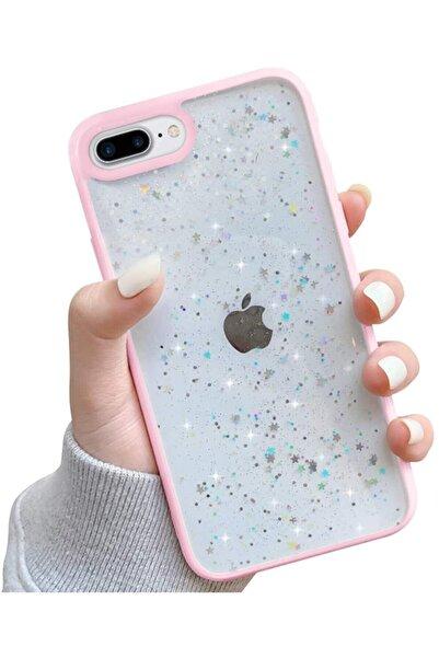 Teknoçeri Iphone 7 Plus / 8 Plus Şeffaf Crystal Desen