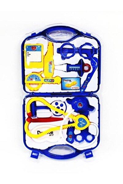 Can Toys Oyuncak Doktor Çantası Mavi Kutuda 14 Parça