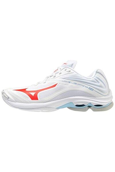 MIZUNO Kadın  Mizuno Wave Lightning Z6 Voleybol Ayakkabısı Beyaz