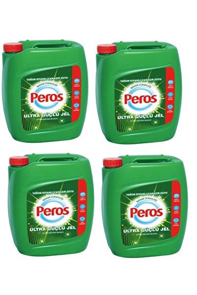 Peros Ultra Kıvamlı Bahar Ferahlığı Çamaşır Suyu 4 kg x 4 Adet