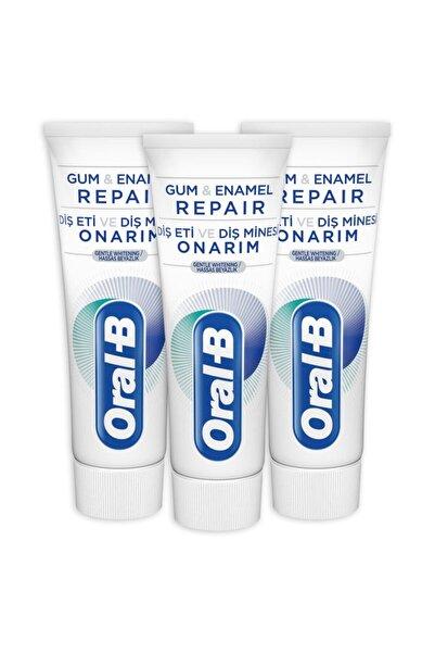 Oral-B Diş Eti Ve Diş Minesi Onarım Beyazlık Diş Macunu75ml X 3