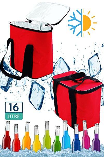 Carneil Nimitz 16 Litre Kırmızı Doğa Kamp Piknik Gıda Taşıyıcı Termal Korumalı Çanta