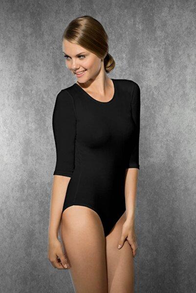 Doreanse Kadın Siyah Modal Body - Zıbın 12330