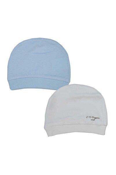 Baby Center Bebek Organik Şapka 2'li S76056