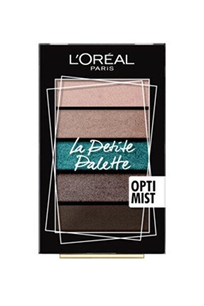 L'Oreal Paris Göz Farı Paleti - La Petite Palette Optimist