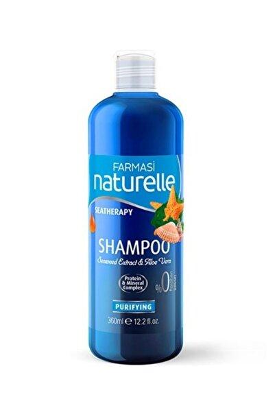 Farmasi Naturelle Sea Therapy Yosun & Aloe Vera Arındırıcı Şampuan 360 ml