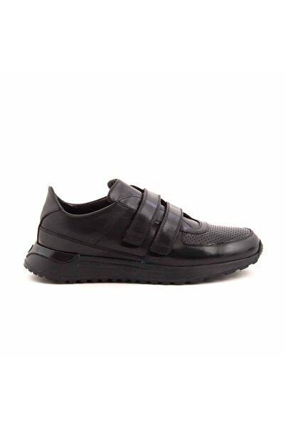 MOCASSINI Deri Cirt Bantli Erkek Spor Sneaker D3850