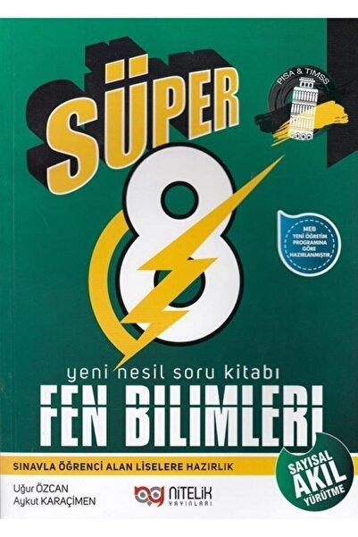 Nitelik Yayınları 8.sınıf Yeni Nesil Süper Fen Bilimleri Soru Kitabı 2019 Aykut Karaçimen  Uğur Özcan