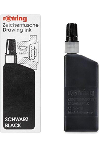 Rotring Siyah Rapıdo Mürekkebi 23 ml