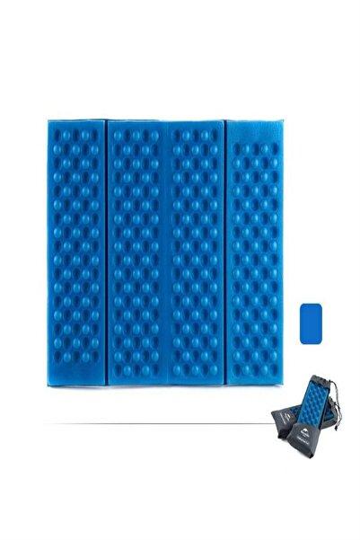 vegatek Kamp Zemin Oturma Matı Katlanabilir Mavi Renk 32x40 Cm