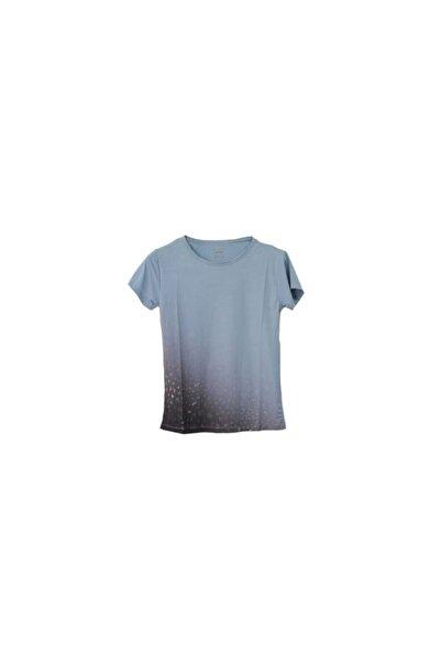 Exuma Kadin Kahverengi Gri Tshirt