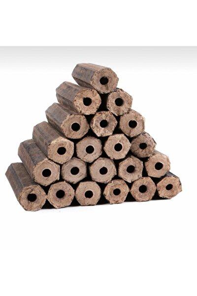 HMNL Fındık Kabuğundan Preslenmiş Briket Şömine Odunu 10kg