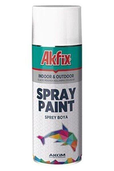 Akfix Sprey Boya 400ml Mat Beyaz