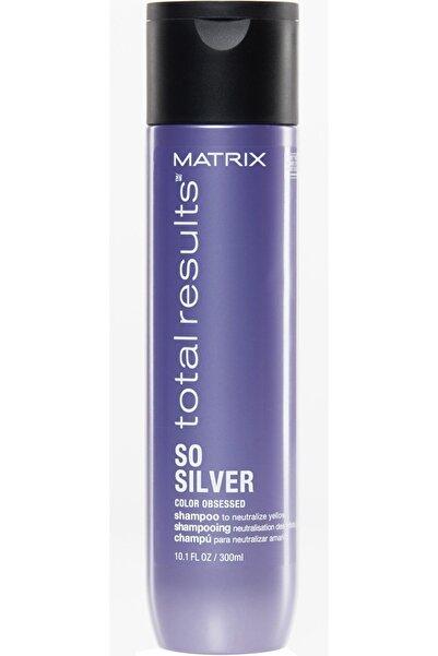 Matrix Total Results So Silver Gri, Platin ve Beyaz Saçlar için Renk Koruyucu Mor Şampuan 300 ml