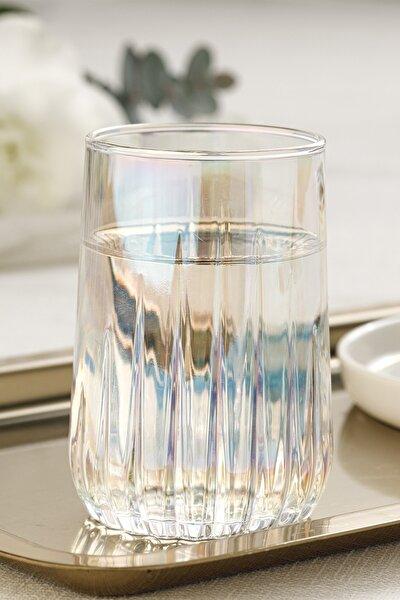 English Home Rio Cam 6'lı Kahve Yanı Su Bardağı 135 Ml Renkli