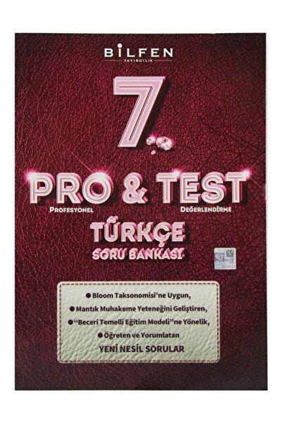 Bilfen Yayıncılık 7. Sınıf Pro & Test Türkçe Soru Bankası