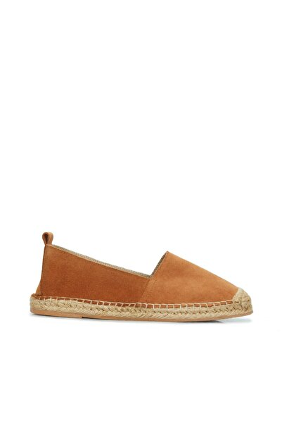 Dıvarese Kadın Taba Hasır Tabanlı Ayakkabı