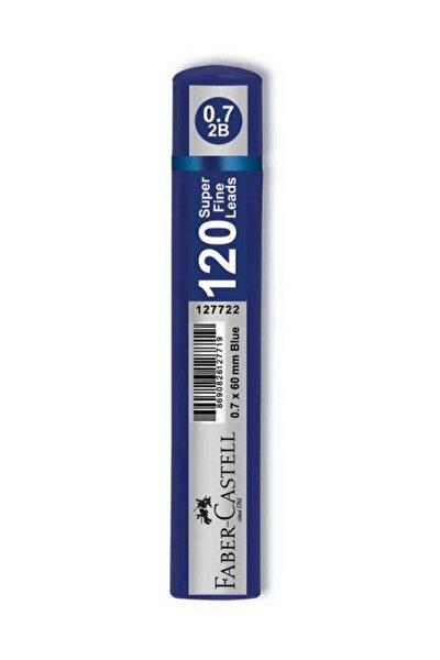 Faber Castell Grıp Min 0.7 2b 60mm 120li Mavi Tüp
