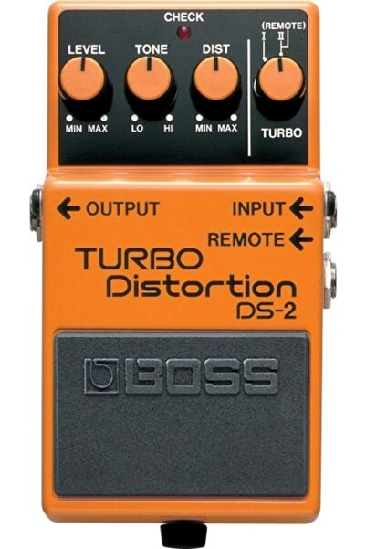 Boss Ds-2 Turbo Distortion Compact Pedal