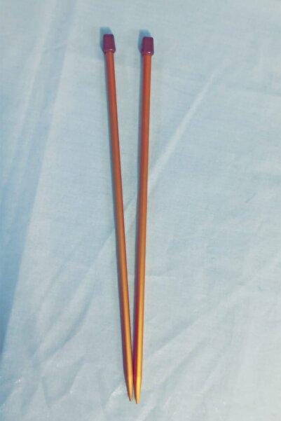 Tunç Gold Gümüş Örgü Şişi 10 Numara 35 cm