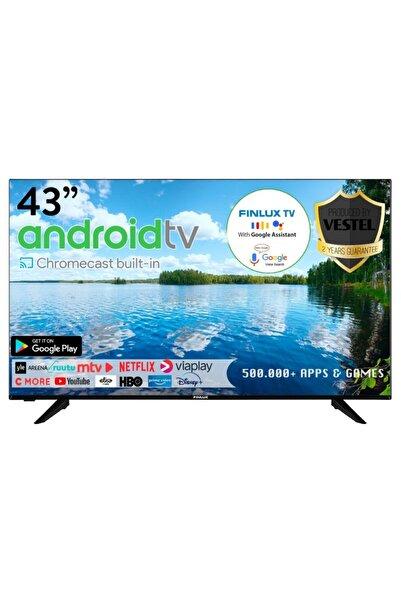 """FİNLUX 43FAE9560 43"""" / 109 Ekran Uydu Alıcılı 4K Ultra HD Smart LED TV"""