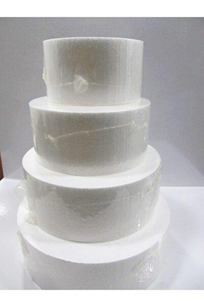 öztürkler Strafor Maket Pasta Yuvarlak 24x 10 Cm