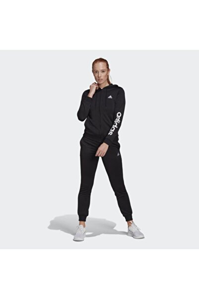 adidas Kadın Siyah W Lın Ft Ts Eşofman Takımı Gm5575