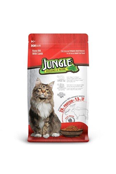 Jungle Kuzu Etli Yetişkin Kedi Maması 15 kg
