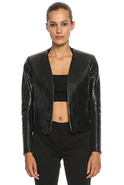 Lanvin Kadın Siyah Deri Ceket