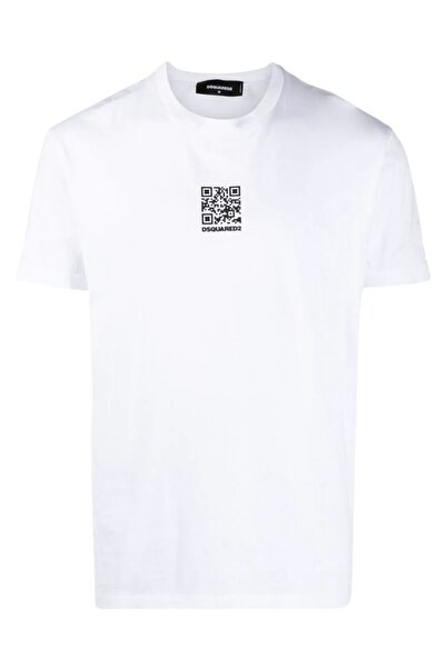 DSquared2 Beyaz Regular Fit T-shirt