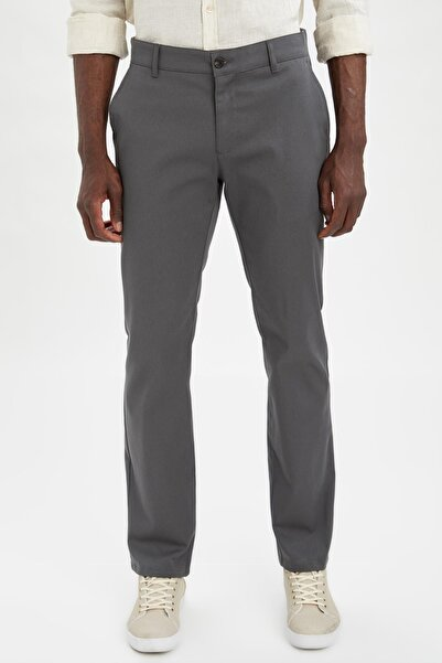 DeFacto Erkek Regular Fit Basic Chino Pantolon