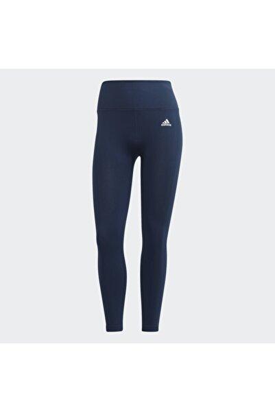 adidas Kadın Lacivert Spor Tayt Gl4026 W Sml 78 Tıg