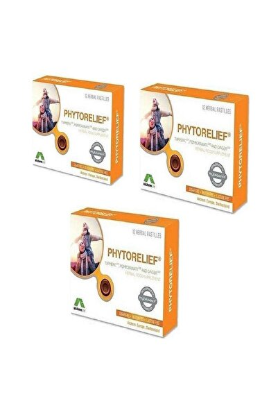 alchem Phytorelıef 12 Herbal Pastılles X 3 Adet