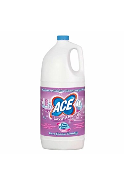 ACE Lavanta Kokulu Çamaşır Suyu 4 X 4 L