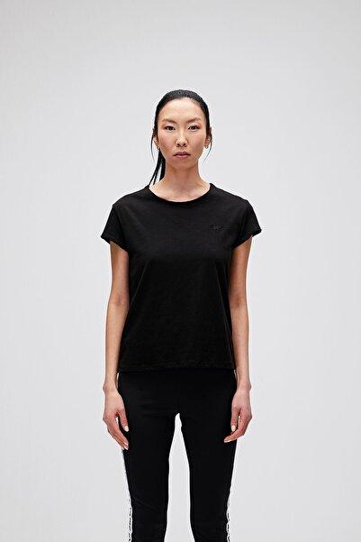 Bad Bear Kadın Siyah Tişört Olıvıa O-neck Tee